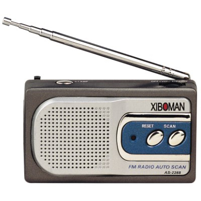 Mini Radio With Light